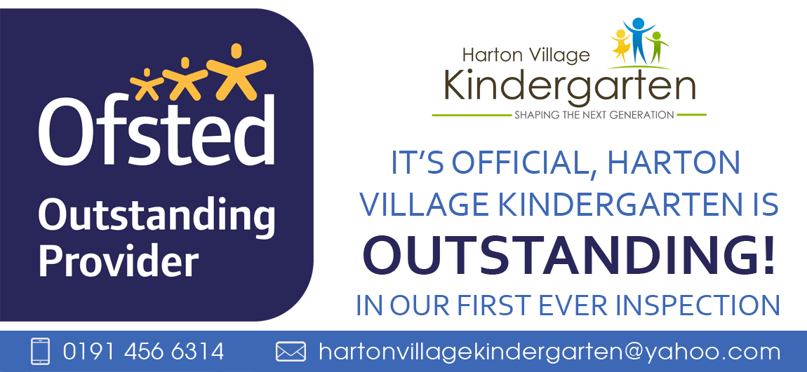 We Are Outstanding - Harton Village Kindergarten featured blog